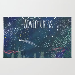 Let´s be adventurers Rug