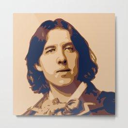 Oscar Wilde Metal Print