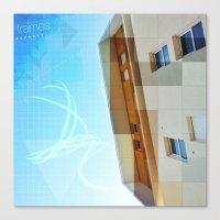 frames Canvas Prints featuring frames by katzuyoshi