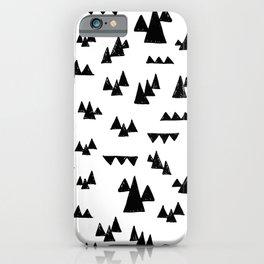 Nordic trees iPhone Case