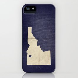 Boise, Idaho iPhone Case
