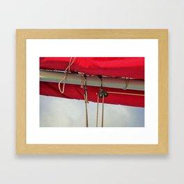 A Cayman Sail II Framed Art Print