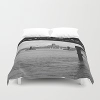 liverpool Duvet Covers featuring Liverpool - An Alternative View by Caroline Benzies Photography