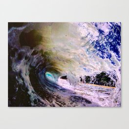 From the stars to the ground, in the water Canvas Print
