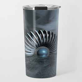 Surreal Frozen Sea Travel Mug