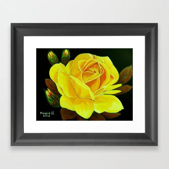 A Rose for You Framed Art Print