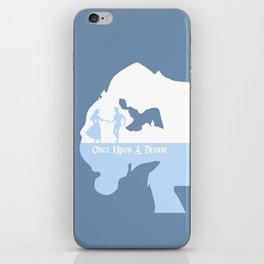 Sleeping Beauty - Blue iPhone Skin