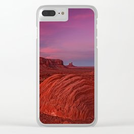 Monument Valley, USA #society6 #decor #buyart Clear iPhone Case