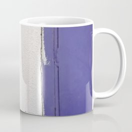Blue White Blue Coffee Mug