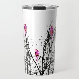 Red Birds Travel Mug