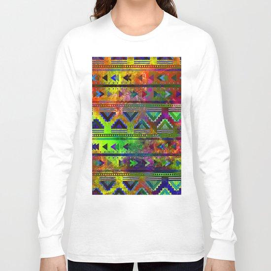 pop triangles Long Sleeve T-shirt