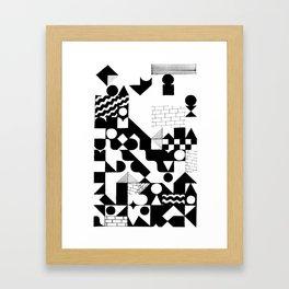 GRID Framed Art Print