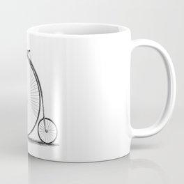 Penny-farthing. Coffee Mug