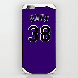 Mike Dunn Jersey iPhone Skin
