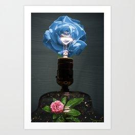 Rosy Garden Art Print