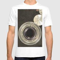 Vintage Argus camera White Mens Fitted Tee MEDIUM