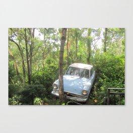 Ford Anglia the original Herbie Canvas Print