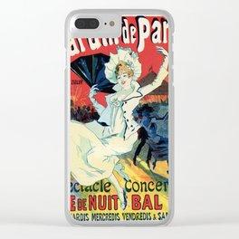 1890 Jardin De Paris Night Party Clear iPhone Case