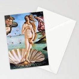 Sandro Botticelli - The Birth Of Venus - Digital Remastered Edition Stationery Cards