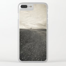 All Who Wander Clear iPhone Case
