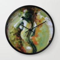 helen Wall Clocks featuring Helen by Andrea Creates