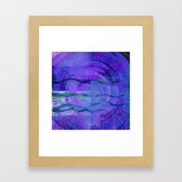 Jala (Water) Abstract Framed Art Print