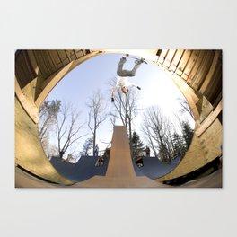 Bam Margera - Death Gap Canvas Print