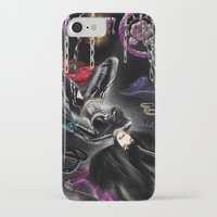 monika strigel iPhone & iPod Cases featuring Monika by RebelInkGirl