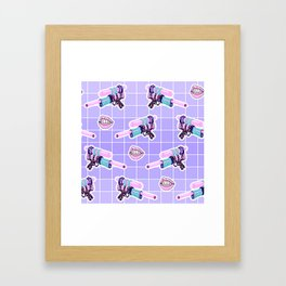 Space Vixen Framed Art Print