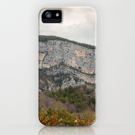 French Gorges in the winter iPhone Case