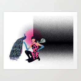 Speckled  Art Print