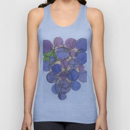 grape shape Unisex Tank Top