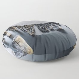Blue Jetty Floor Pillow