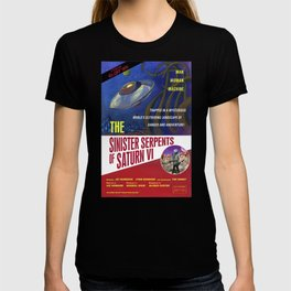 """The Sinister Serpents of Saturn VI"" Movie Poster T-shirt"