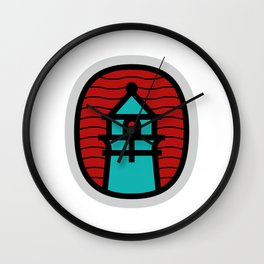 Lighthouse on the Lake Wall Clock