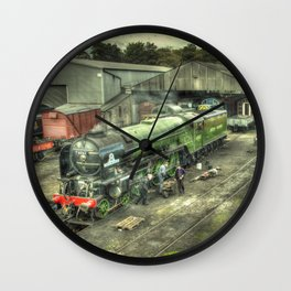 Tornado at Wansford Wall Clock