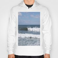 surfer Hoodies featuring Surfer by moonstarsunnj