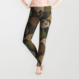 Flamingo Camouflage Pattern Leggings
