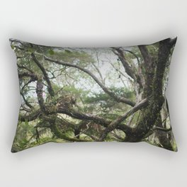 wilderness of new zealand's bush Rectangular Pillow