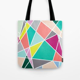 Geometric Spotlights Tote Bag