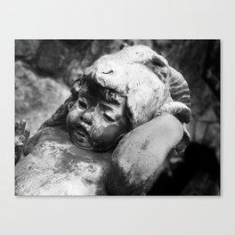 Cherub with Headdress Canvas Print