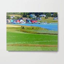 French River Harbour Metal Print