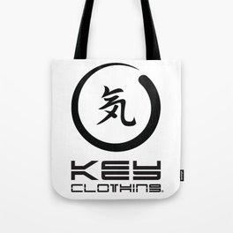 Key Clothing Canada Kanji Brushstroke Black Logo Tote Bag