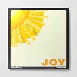 Fruit of the Spirit, Joy Metal Print