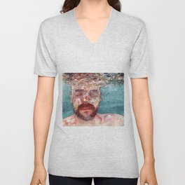 Watercolour Unisex V-Neck