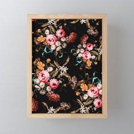Midnight Garden IV Framed Mini Art Print