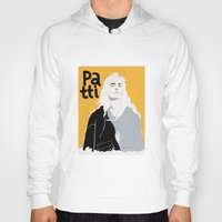 melissa smith Hoodies featuring Patti Smith by Elin Lucassi