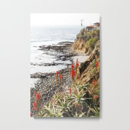 Laguna Beach being Beautiful Metal Print