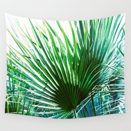 Bright Palm 4 Wall Tapestry