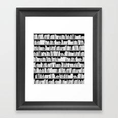 Read 'em and Weep Framed Art Print